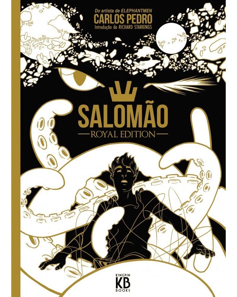 SALOMÃO – Royal Edition, de Carlos Pedro, capa