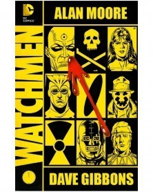 Watchmen TP (Alan Moore/Dave Gibbons), capa
