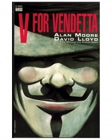 V For Vendetta TP (Alan Moore/David Lloyd), capa