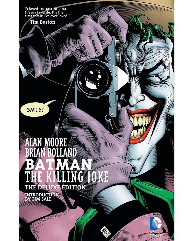 Batman: The Killing Joke - Deluxe Edition (capa)