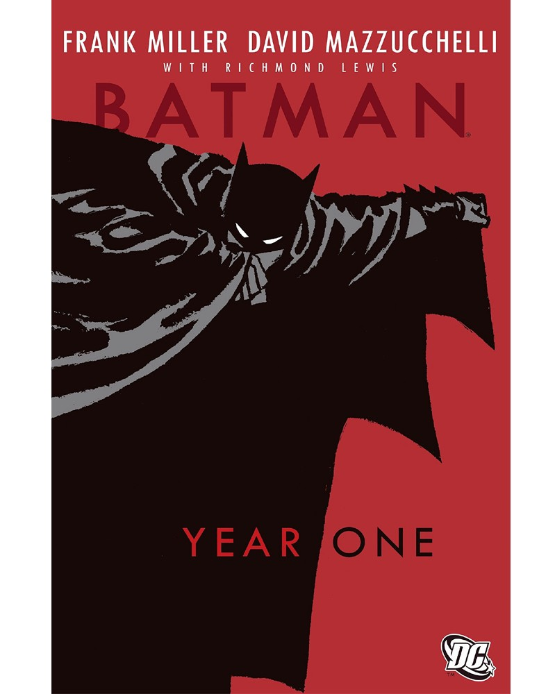 Batman: Year One TP (Miller/Mazzucchelli), capa
