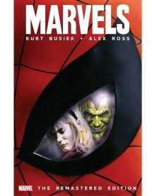 Marvels, remastered edition (Kurt Busiek/Alex Ross), capa