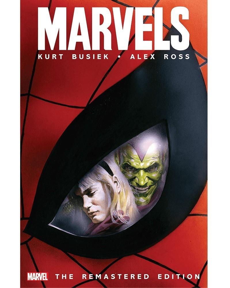 Marvels, remastered edition (Kurt Busiek/Alex Ross), capa
