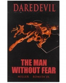 Daredevil: Man Without Fear (Miller/Romita Jr.), capa