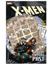 X-Men: Days of Future Past (Claremont/Byrne), capa