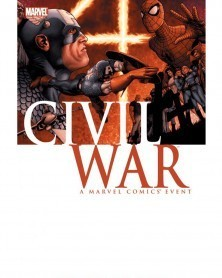 Civil War TP (Marvel Comics), capa