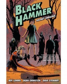 Black Hammer vol.1: Secret Origins (capa)