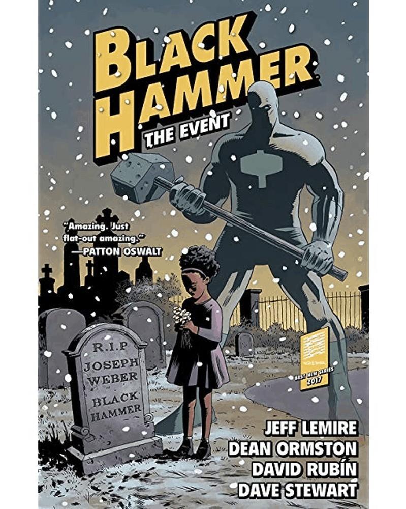 Black Hammer vol.2: The Event (capa)
