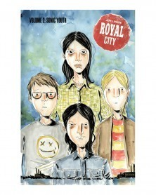 Royal City vol.2: Sonic Youth, de Jeff Lemire,capa