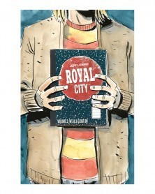 Royal City vol.3: We All Float On, de Jeff Lemire, capa