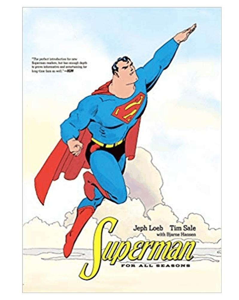 Superman For All Seasons TP (Jeph Loeb e Tim Sale), capa
