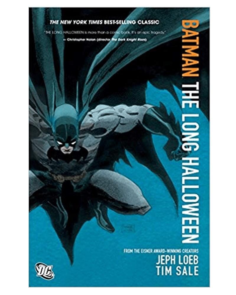 Batman: The Long Halloween, de Loeb e Sale, capa