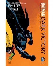 Batman: Dark Victory, de Jeph Loeb e Tim Sale, capa