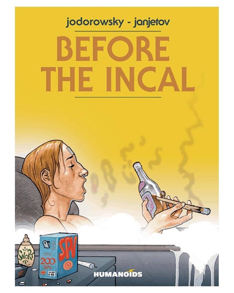 Before The Incal, de Jodorowsky (edição integral capa dura)