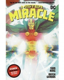 Mister Miracle TP, de Tom King e Mitch Gerards, capa
