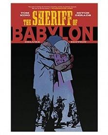 Sheriff of Babylon, de Tom King (edição integral capa dura)