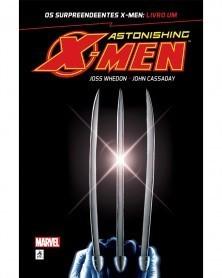 Astonishing X-Men Livro Um, de Joss Whedon e John Cassaday, capa