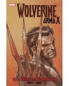 Wolverine Arma X vol. 1: Os Homens de Adamantium, capa