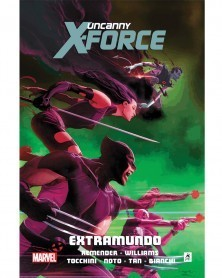 Uncanny X-Force vol. 3: Extramundo, capa
