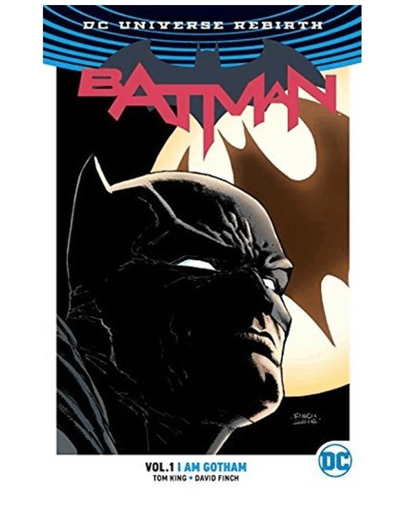 Batman vol.1: I Am Gotham TP (Rebirth), de Tom King, capa