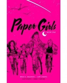Paper Girls vol.1, de Brian K Vaughan (Deluxe Ed.), capa