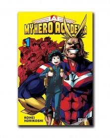 My Hero Academia vol.1 (Ed. Portuguesa), capa