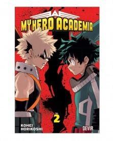 My Hero Academia vol.2 (Ed. Portuguesa), capa