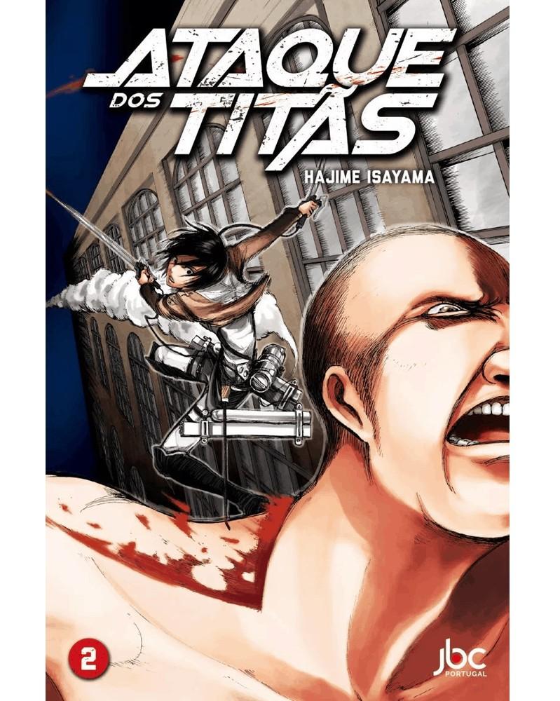 Ataque dos Titãs vol.2, edição portuguesa