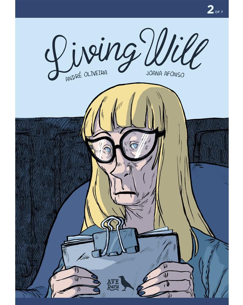 Living Will 2, de André Oliveira e Joana Afonso, capa