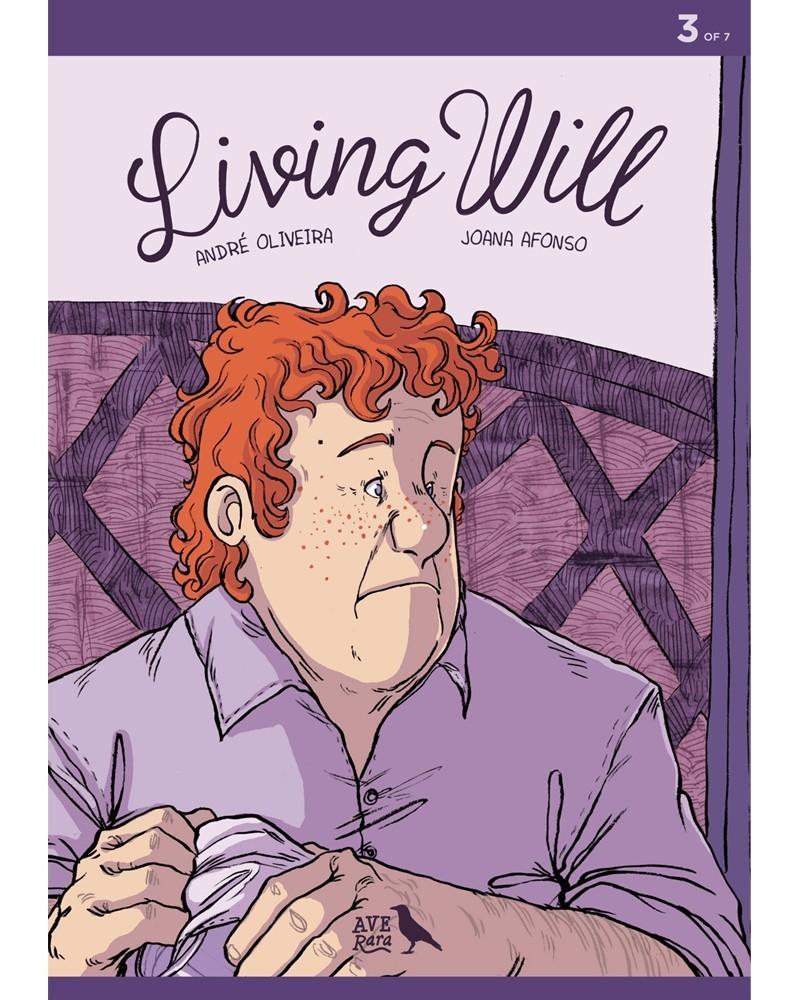 Living Will 3, de André Oliveira e Joana Afonso, capa
