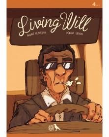 Living Will 4, de André Oliveira e Pedro Serpa, capa