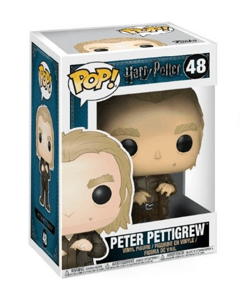 Funko POP Movies - Harry Potter - Peter Pettigrew, caixa