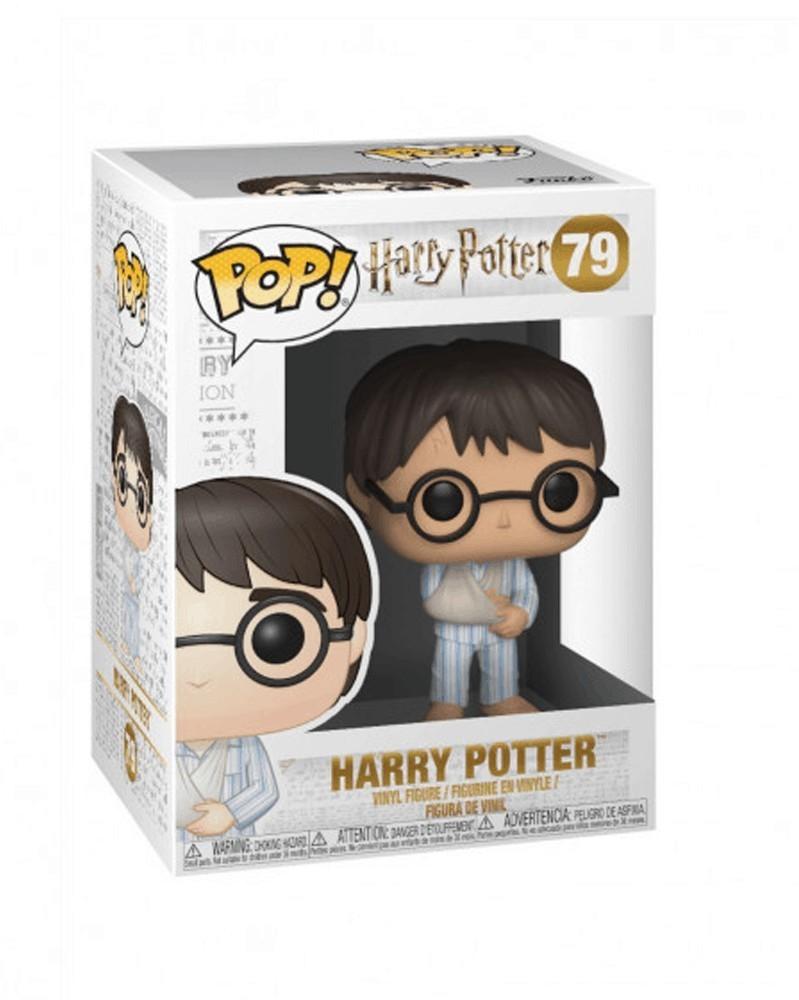 Funko POP Movies - Harry Potter with Pijamas, caixa