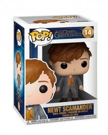 POP Fantastic Beasts: The Crimes of Grindelwald - Newt Scamander, caixa