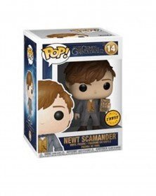 POP Fantastic Beasts: The Crimes of Grindelwald - Newt Scamander (Chase), caixa