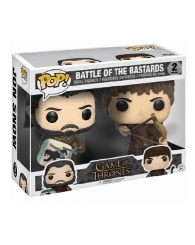 POP Game of Thrones - Battle of the Bastards 2-Pack, caixa