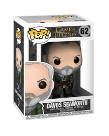 POP Game of Thrones - Davos Seaworth, caixa