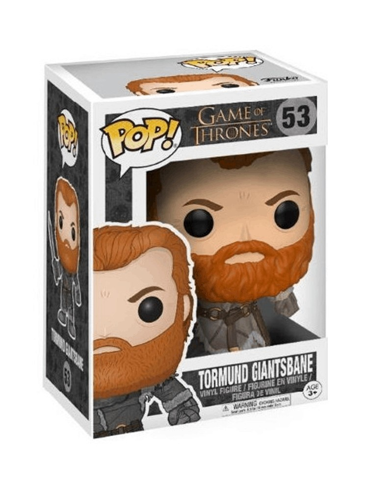 POP Game of Thrones - Tormund Giantsbane, caixa