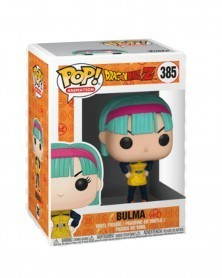 POP Animation - Dragonball Z - Bulma (Yellow), caixa