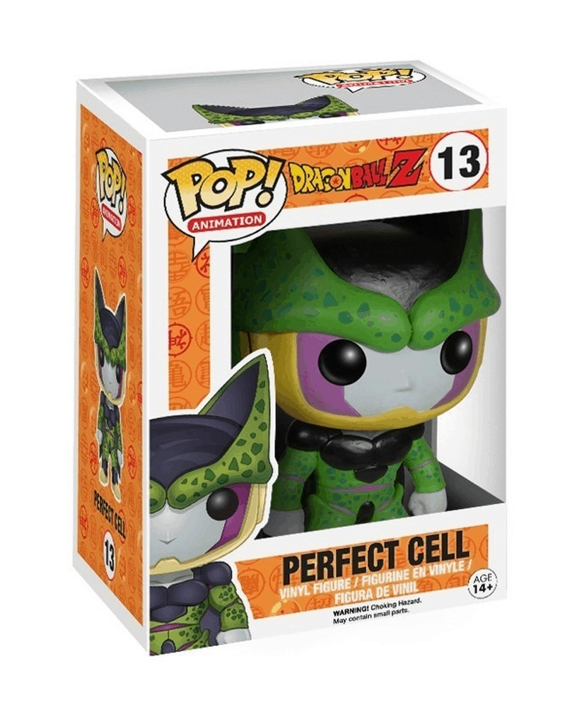POP Animation - Dragonball Z - Perfect Cell, caixa