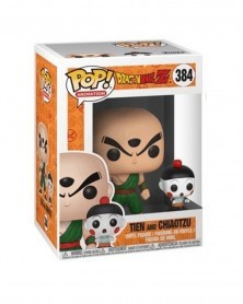 POP Animation - Dragonball Z - Tien e Chiaotzu, caixa