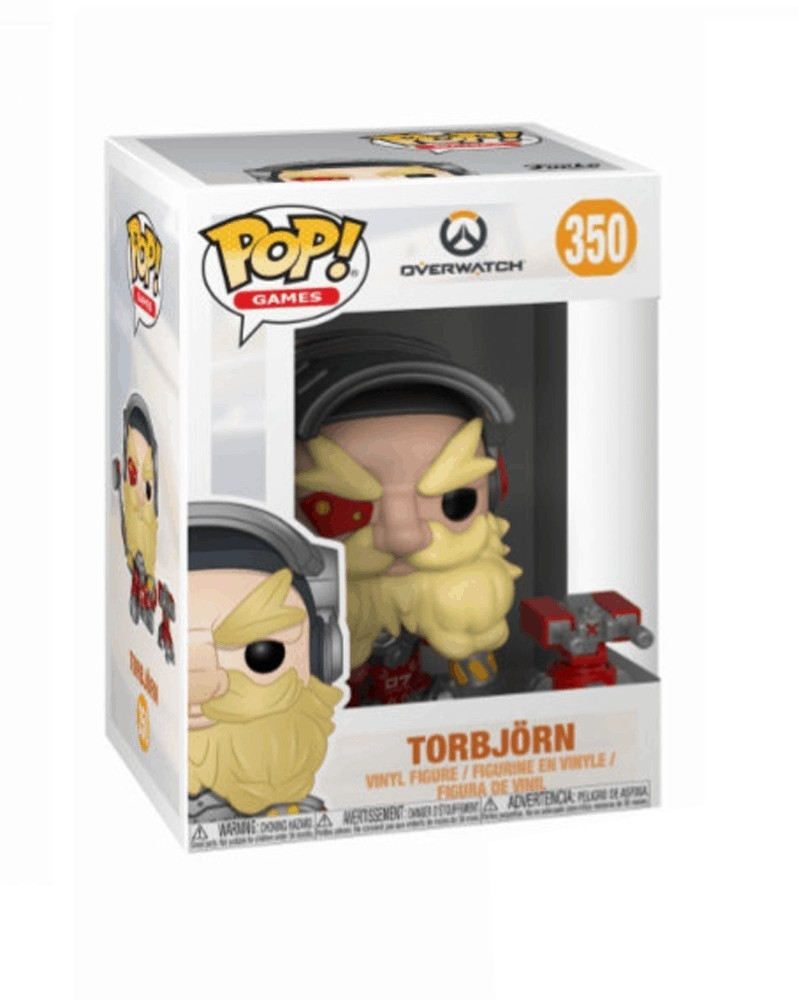 Funko POP Games - Overwatch - Torbjörn, caixa