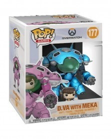 POP Games - Overwatch - D.Va with Meka (Blueberry), caixa