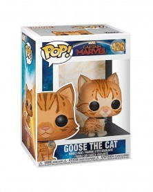 Funko POP Marvel - Captain Marvel - Goose The Cat