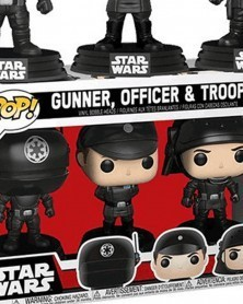 POP Star Wars - 3-Pack - Death Star - Gunner, Officer, Trooper