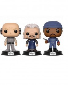 POP Star Wars - 3-Pack - Lobot, Ugnaught, Bespin Guard (Walmart Exclusive)