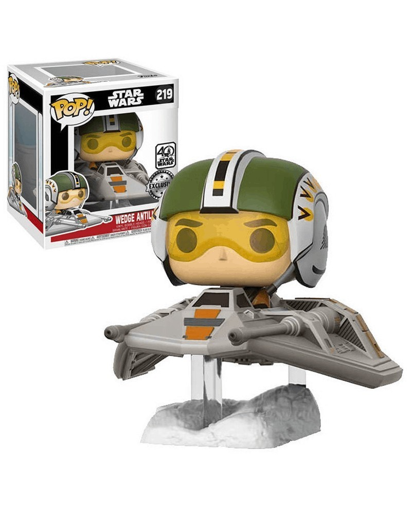 POP Star Wars Episode VII - Wedge Antilles with Snow Speeder