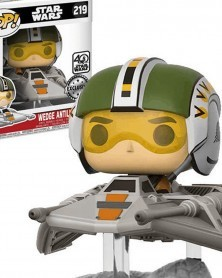 POP Star Wars Episode VII - Wedge Antilles with Snow Speeder, crop