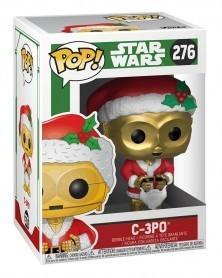 Funko POP Star Wars - Holiday C-3PO as Santa, caixa