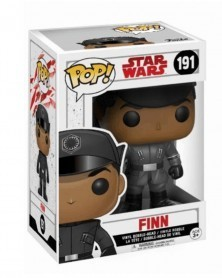 Funko POP Star Wars Episode VIII - Finn, caixa